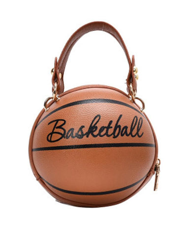 Creative Basketball Shape Messenger Bag