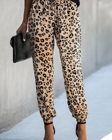 Leopard Print Tight Legging