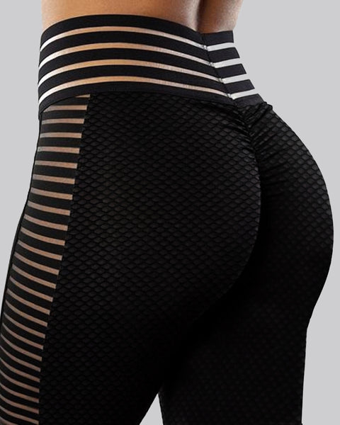 Plain High Waist Skinny Leggings