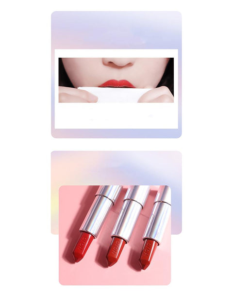 HOJO Velvet Smooth Red Lipstick