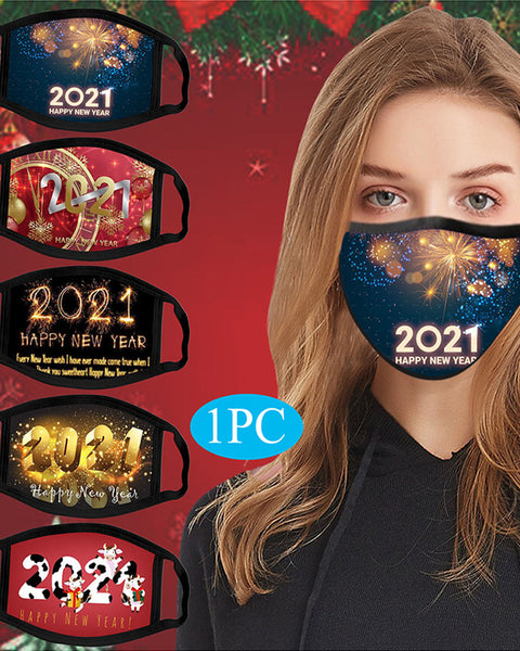 Graphic Letter Print Breathable Face Mask