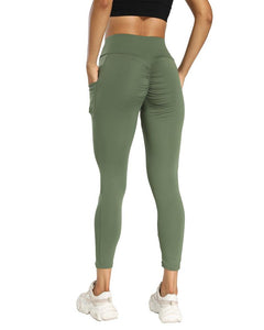 Hip Lift Pocket Skinny Yoga Pants