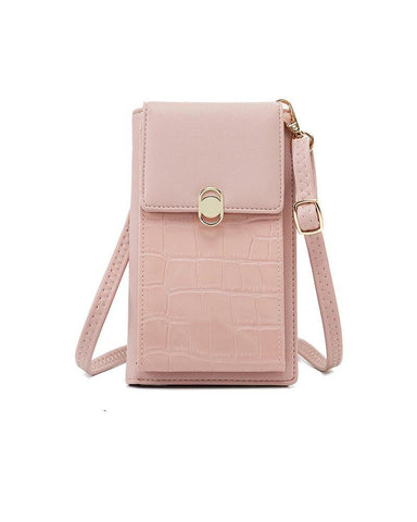 Magnetic Closure Shoulder Bag