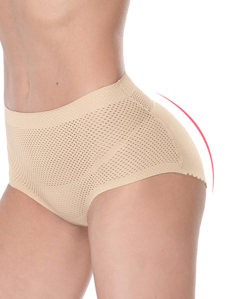 Sponge Padded Push Up Panties Butt Lifter Fake Ass Briefs Butt Hip Enhancer Seamless Control Panties