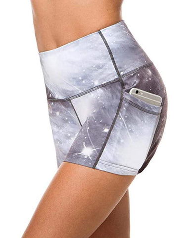 Tie Dye Hip Lift Yoga Fitness Shorts