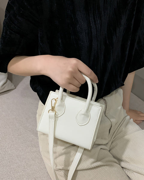 Mini Top Handle Satchel Bag