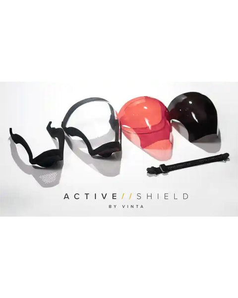 Active Shield Hybrid Face Mask Face Shield