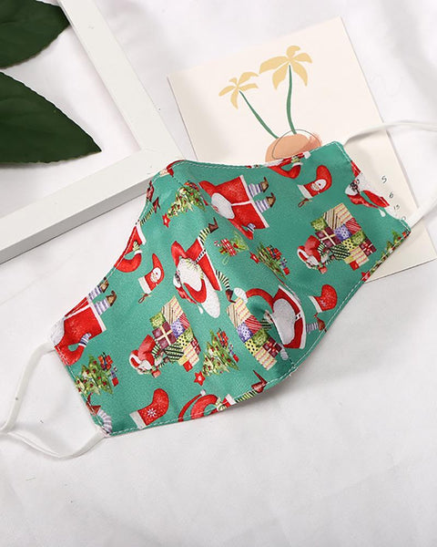 Christmas Print Breathable Face Mask
