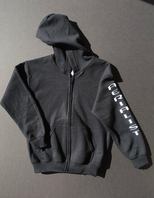 Youth - Full Zip Hooded Sweatshirt