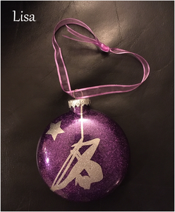 Aerial Lyra Ornament - Lisa