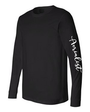 Load image into Gallery viewer, Black Aerialist Long Sleeve Pullover - Unisex