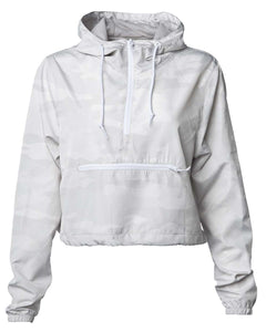 Lightweight Crop Windbreaker