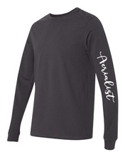 Load image into Gallery viewer, Dark Grey Aerialist Long Sleeve Pullover - Unisex