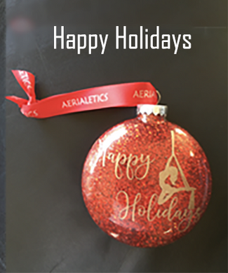 Happy Holidays - Aerial Ornament