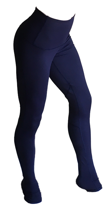 Navy aerial leggings