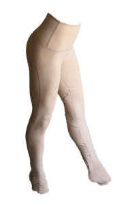 Nude aerial leggings