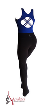 Load image into Gallery viewer, Royal Blue & Black Aerial Practice Jumpsuit