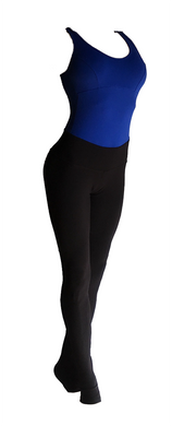Royal Blue & Black Aerial Practice Jumpsuit