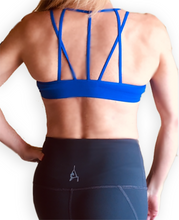 Load image into Gallery viewer, Strappy Mesh Sports Bra