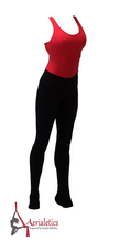 Load image into Gallery viewer, Red and Black Aerial Practice Jumpsuit