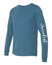 Load image into Gallery viewer, Teal Aerialist Long Sleeve Pullover - Unisex