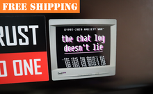 "Load image into Gallery viewer, ""the chat log doesn't lie"" Sticker"