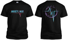 "Load image into Gallery viewer, Anxiety War ""Midnight Storm"" T-Shirt"