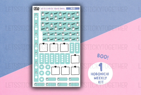 boo! // hobonichi weeks kit