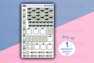 bite me // hobonichi weeks kit
