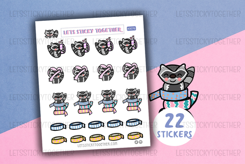 washi tape meeko planner stickers
