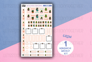 grow // hobonichi weeks kit
