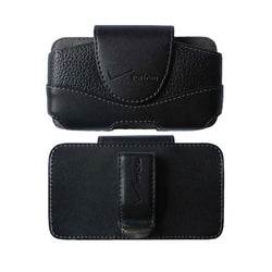 Verizon Universal Leather Pouch - Style 1 - Black