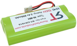 VTech OEM Replacement Batteries for BT162342 BT262342 CS6419 CS6719 - Green (2 Pack)