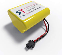 Rome Tech 6V 900mA Ni-Cd SMP AA5SW Rechargeable Battery for Sunforce 80 LED Solar Motion Light