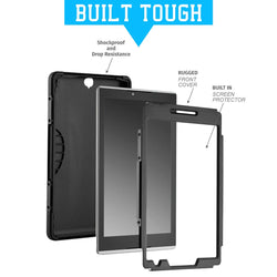 "Samsung Galaxy Tab S3 9.7"" Rugged Case Cover w/Screen Protector"