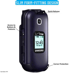 Samsung Gusto 3 Belt Clip Holster Case Cover
