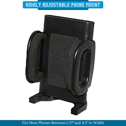 Universal Vent & Adhesive Combo Car Mount