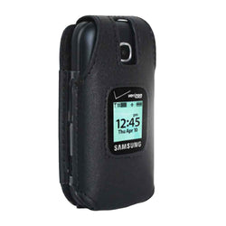 Samsung Gusto 3 Rome Tech Fitted Case with Belt Clip - Black