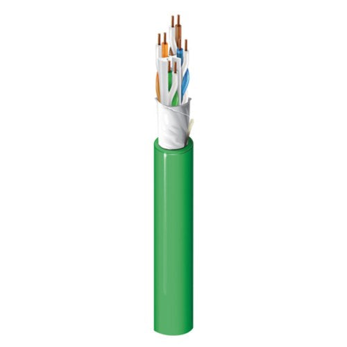CAT6A (625MHZ), 4-PAIR, U/UTP, PLENUM (CMP), 23 AWG BC CONDUCTORS, FLAMARREST® JACKET