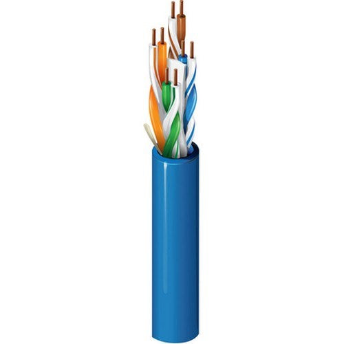CAT6+ (350MHZ), 4-PAIR, U/UTP, PLENUM (CMP), 23 AWG SOLID BC CONDUCTORS, FLAMARREST® JACKET