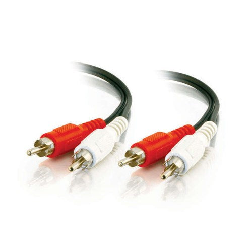 VALUE SERIES™ (2) RCA STEREO (M) MALE TO (2) RCA STEREO (M) MALE AUDIO CABLE