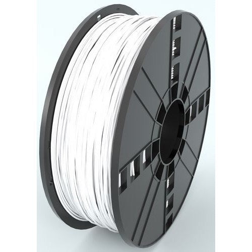 ABS, 1.75 MM, 1 KG SPOOL - PREMIUM 3D PRINTER FILAMENT - WHITE