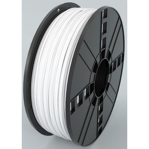 ABS, 2.85 MM, 1 KG SPOOL - PREMIUM 3D PRINTER FILAMENT - WHITE