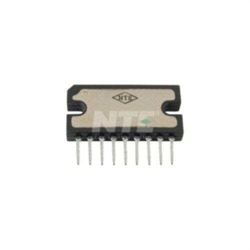 INTEGRATED CIRCUIT 4.4 WATT AUDIO POWER AMP 9-LEAD SIP VCC=18V MAX