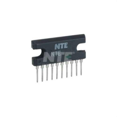 INTEGRATED CIRCUIT 12 WATT AUDIO POWER AMP 10-LEAD SIP VCC=25V REVERSE PIN-OUT OF NTE1391