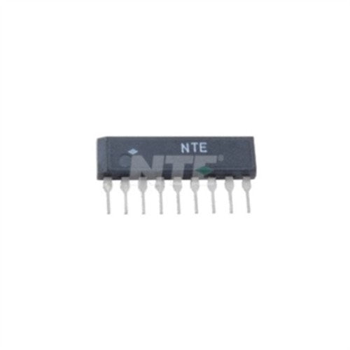 INTEGRATED CIRCUIT DUAL LOW NOISE AUDIO PREAMP 9-LEAD SIP VCC=15V