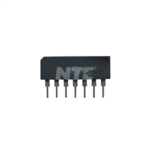 INTEGRATED CIRCUIT HIGH SPEED 6-DIODE ARRAY, COMMON ANODE 7-LEAD SIP TRR=4NS CT=5PF TYP