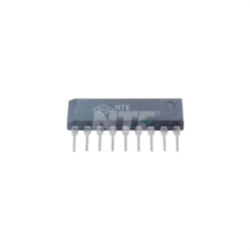 INTEGRATED CIRCUIT DUAL BALANCED MODUALTOR FOR VIDEO CAMERAS 9-LEAD SIP VCC=9V