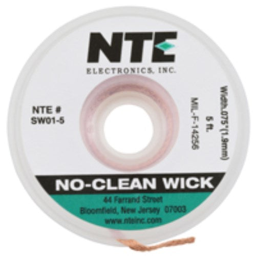 NO-CLEAN SOLDER WICK