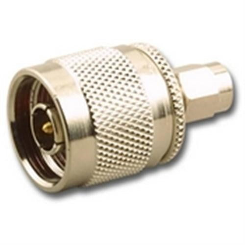 IN-LINE SPLICE ADAPTER, SMA (M) MALE TO N-TYPE (M) MALE